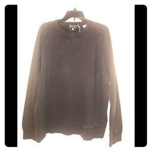 Levi vintage 1950's crew sweatshirt. Dark brown.